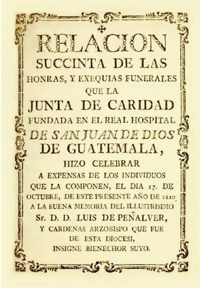 Vista de Los sermones en el Reino de Guatemala: un objeto