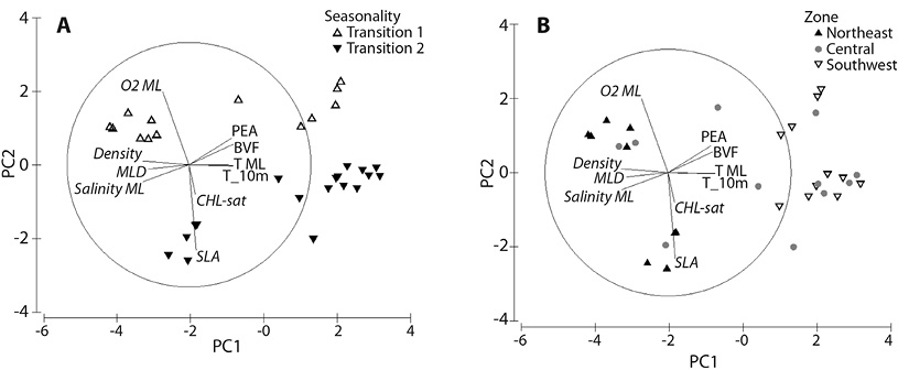 View of Spatial variability of zooplankton community