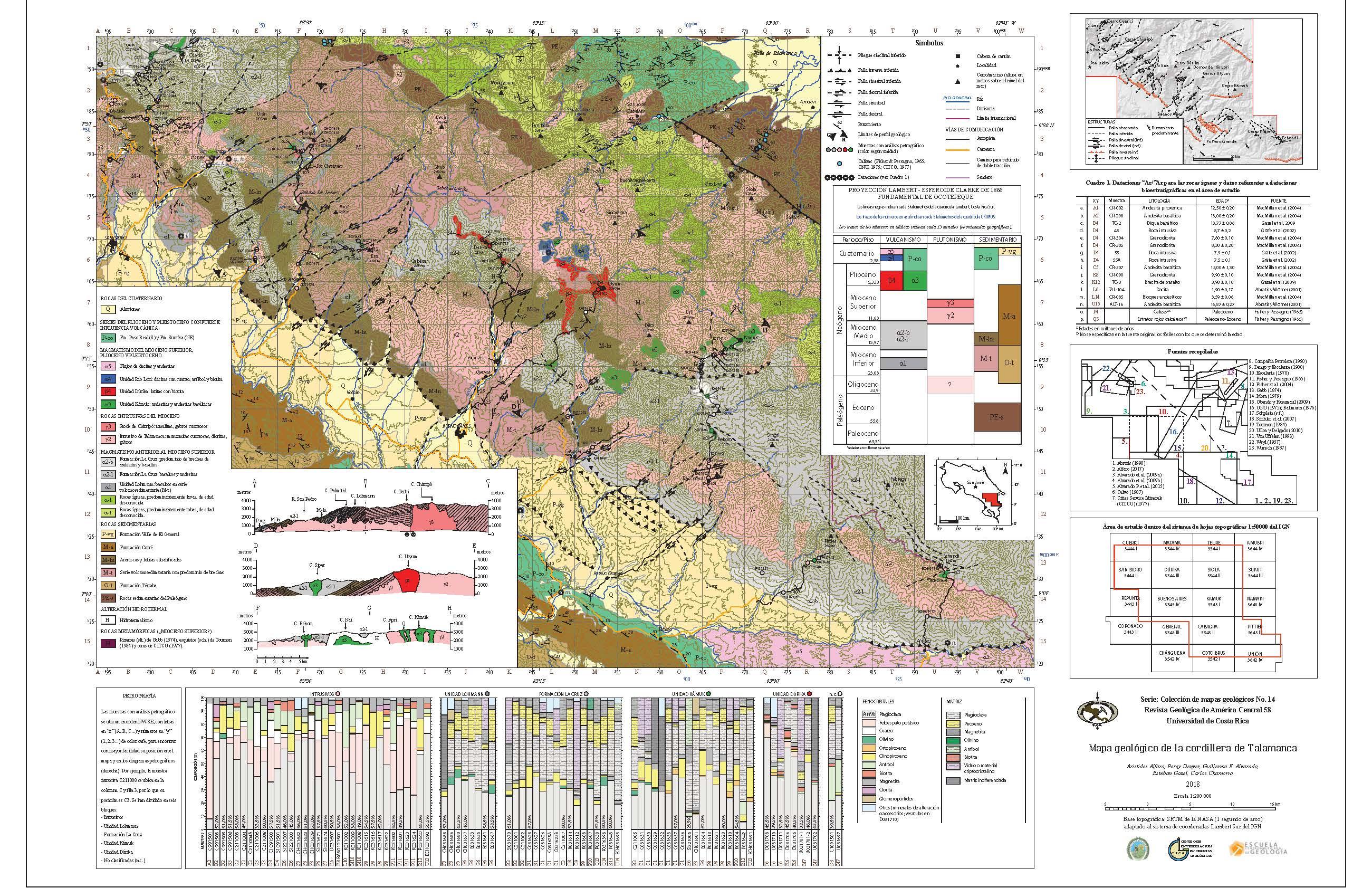 Mapa geológico adjunto para descarga en la barra lateral derecha en Herramientas del artículo>Archivos complementarios