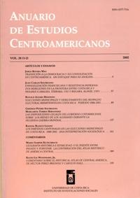Anuario de Estudios Centroamericanos, Vol. 28 (2002)