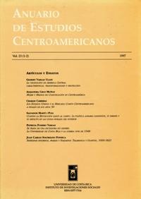 Anuario de Estudios Centroamericanos, Vol. 23 (1997)