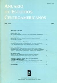 Anuario de Estudios Centroamericanos, Vol. 27, No. 2 (2001)