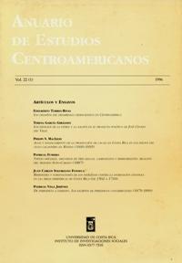 Anuario de Estudios Centroamericanos, Vol. 22, No. 1 (1996)
